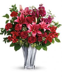 Teleflora's Sterling Love Bouquet Valentine's