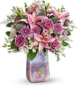 Teleflora's Stunning Swirls Bouquet Fresh Floral