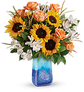 Teleflora's Sunflower Beauty TEV57-5B Bouquet in Moses Lake, WA | FLORAL OCCASIONS