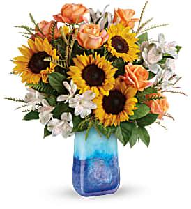 Teleflora's Sunflower Beauty TEV57-5B Bouquet