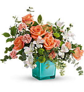 Teleflora's Sunset Splash TEV59-7B Bouquet in Moses Lake, WA | FLORAL OCCASIONS