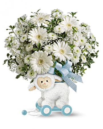 Teleflora's Sweet Little Lamb - Baby Boy