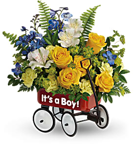 Teleflora's Sweet Little Wagon TNB13-1B Bouquet  in Moses Lake, WA | FLORAL OCCASIONS