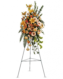 Teleflora's Sweet Remembrance Spray Standing Spray
