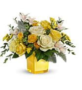 Teleflora's Sweet Sunlight TEV59-5B Bouquet
