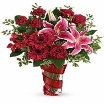 Teleflora's Swirling Desire Bouquet Arrangement