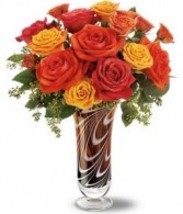 Swirls of Autumn Bouquet Roses