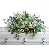 Teleflora's Tender Remembrance Casket Spray