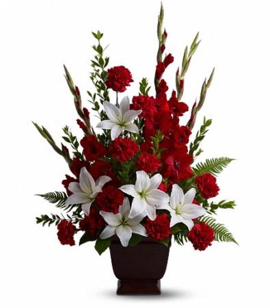 Teleflora's Tender Tribute Memorial Flowers