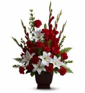 Teleflora's Tender Tribute  Sympathy Arrangement