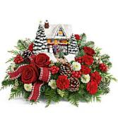 Teleflora's Thomas Kincade Hero's Welcome centerpiece