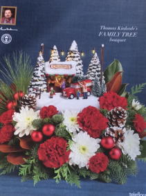 Teleflora's Thomas Kinkade Family Tree Christmas
