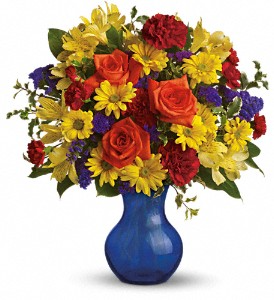 Teleflora's Three Cheers for You Fresh Arrangement