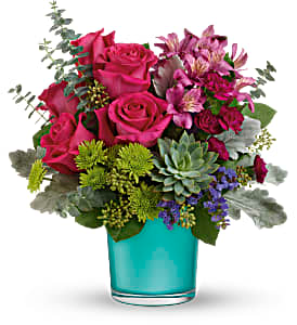 Teleflora's Topaz Wonderland TEV59-4B  Bouquet in Moses Lake, WA | FLORAL OCCASIONS
