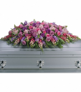 Teleflora's Tribute Casket Spray