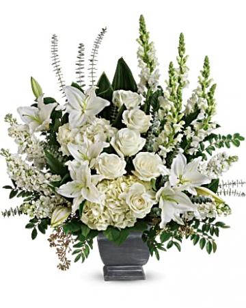 Teleflora's True Horizon Bouquet Urn