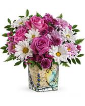 Teleflora's Vintage Butterfly Bouquet Bouquet