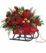 Teleflora's Vintage Sleigh Bouquet T17X300A  # 2017