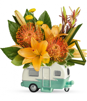 Teleflora's Vintage Vacationer T20F105B Bouquet in Moses Lake, WA   FLORAL OCCASIONS