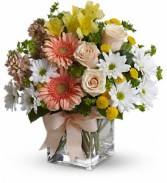 Walk in the Country Bouquet  Vase Arrangement