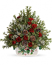 TELEFLORA'S WARMEST WINTER TREE Christmas Arrangment
