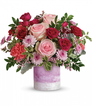Teleflora's Washed In Pink TEV58-1B Bouquet