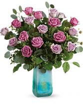 Teleflora's Watercolor Roses Bouquet All Occasions in Las Vegas, Nevada | All In Bloom