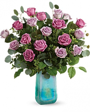 Teleflora's Watercolor Roses Bouquet All Occasions in Las Vegas, NV | All In Bloom