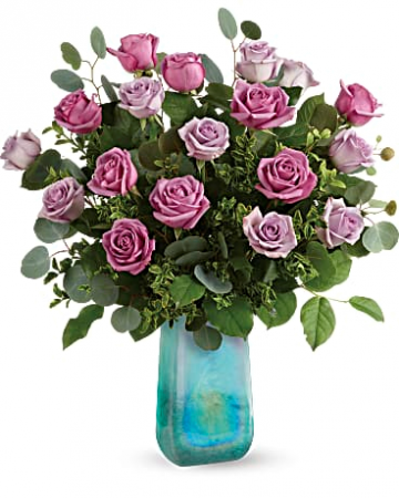 Teleflora's Watercolor Roses Bouquet All Occasions