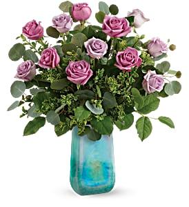 Teleflora's Watercolor Roses One Dozen roses  in Auburndale, FL | The House of Flowers