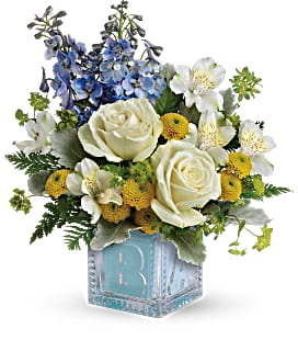 Teleflora's Welcome Little One Bouquet Fresh Floral