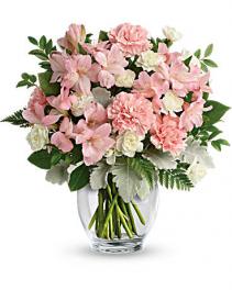Teleflora's Whisper Soft Bouquet Bouquet by Teleflora