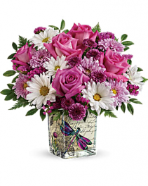 Teleflora's Wildflower In Flight Bouquet bouquet