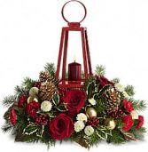 Teleflora's Williamsburg Lantern Centerpiece