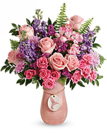Teleflora's Winged Beauty Bouquet