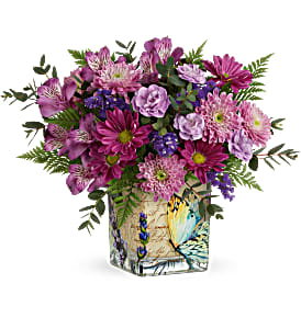 Teleflora's Winged Whimsy