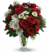 Teleflora's Winter Kisses  Christmas arrangement