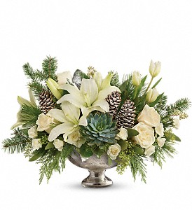 Teleflora's Winter Wilds Centerpiece Bouquet