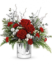 Teleflora's Wintry Wishes Bouquet Arrangement
