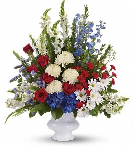 Teleflora's With Distinction Sympathy Arrangement in Auburndale, FL | The House of Flowers