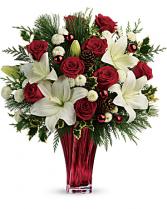 Teleflora's Wondrous Winter Bouquet
