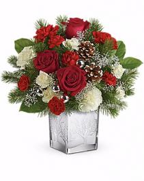 Teleflora's Woodland Winter Bouquet Christmas