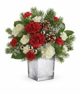 Teleflora's Woodland Winter Bouquet Christmas Arrangement