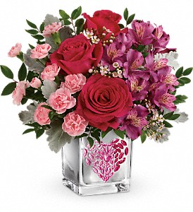 Valentines day flowers coral springs fl darbys florist telefloras young at heart bouquet in coral springs fl darbys florist mightylinksfo