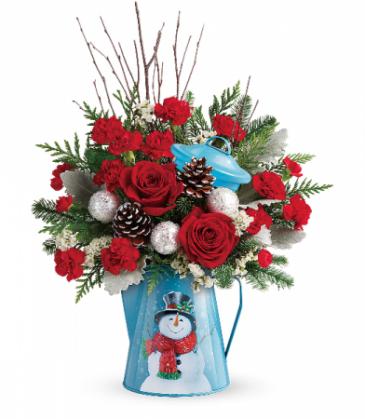 Teleflora Snowy Daydreams T18X300 Bouquet