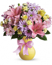 Teleflora's Simply Sweet  Vase arrangement