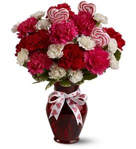 Telelfora's Sweet Love  Vase arrangement