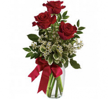 Teleflora's thoughts of you Bouquet  Vase arrangement