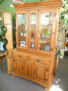 Tell City China Hutch Vintage  in Wickliffe, OH | WICKLIFFE FLOWER BARN