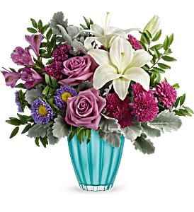 Tempting Teal Vase Arrangement